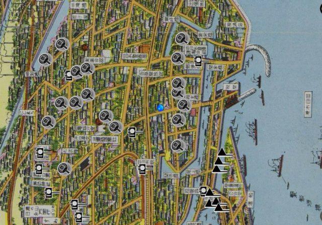 四日市市絵図